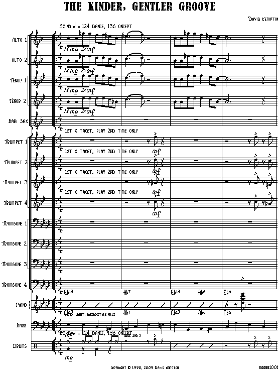 BIG BAND FULL SCORE EBOOK DOWNLOAD